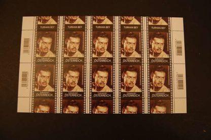Österreich 2012 Ö. in Hollywood Turhan Bey Kleinbogen postfrisch ANK 3016