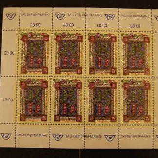 Österreich 1992 Tag der Briefmarke Kleinbogen postfrisch ANK 2096