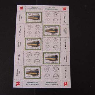 Österreich 2003 Tag der Briefmarke Kleinbogen postfrisch ANK. 2448