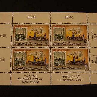 Österreich 1998 WIPA Block postfrisch ANK. 2300