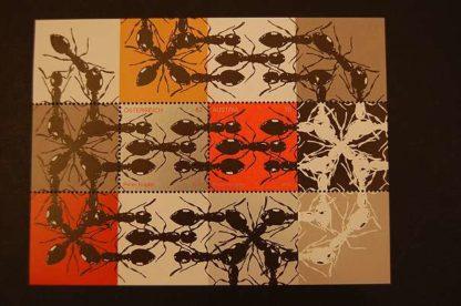 Österreich 2012 Zeitgenösische Kunst Block postfrisch ANK 3057 - 3058