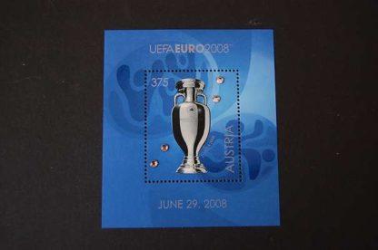 Österreich 2008 Block UEFA Euro 2008 postfrisch ANK 2779