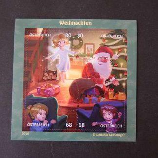 Österreich 2016 Block Weihnachten postfrisch ANK 3326 - 3329