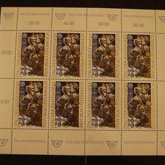 Österreich 1993 Tag der Briefmarke Kleinbogen postfrisch ANK 2128