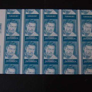 Österreich 2012 Österreicher in Hollywood Buntdruck Block ANK.3016