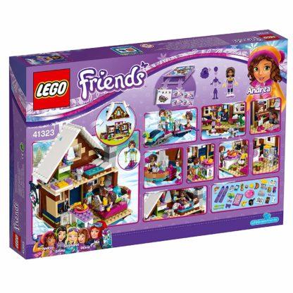 LEGO Friends 41323 Chalet im Wintersportort