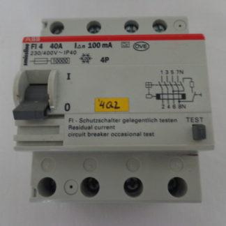 ABB Smissline FI 4  40A   100mA  Schutzschalter