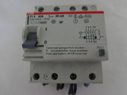 ABB Smissline FI 4  40A  30mA Schutzschalter