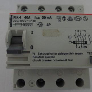 ABB Smissline FIK 4 40A  30mA  Schutzschalter