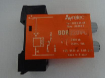Syrelec BDR 220 V Zeitrelais