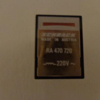 Schrack RA 470720 Relais