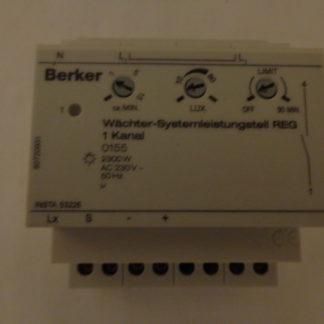 Berker Wächter - Systemleistungsteil 1 Kanal 0155  2300 W AC 230V 50HZ