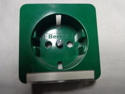 Berker 22081 güner Steckdose grün glänzend