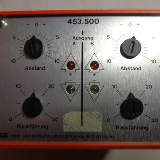 RAM Doppel-Dreipunktausgangststufe 453.500