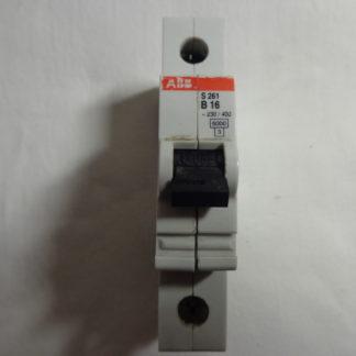 ABB S 261 B16 1pol. Sicherungsautomat