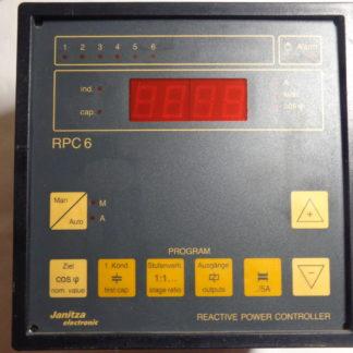 Janitza RPC 6 Reactive Power Controller