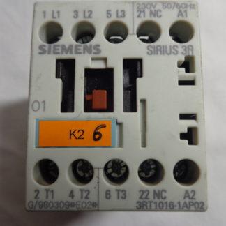 Siemens Sirius 3R  3RT1016-1AP02 Schütz