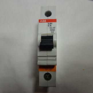 ABB S 261 C6 1pol. Sicherungsautomat