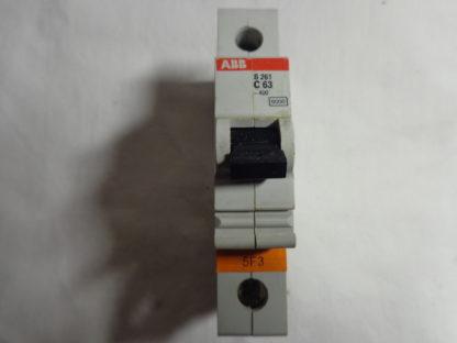 ABB S 261 C63 1pol. Sicherungsautomat