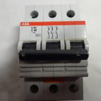 ABB S 263 C40 3pol Sicherungsautomat