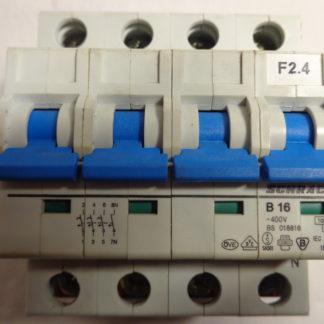 Schrack B16 3+N Sicherungsautomat