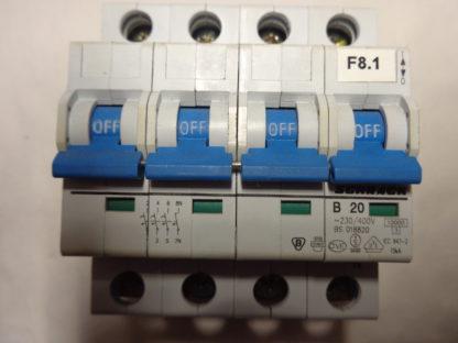 Schrack B20 3+N Sicherungsautomat