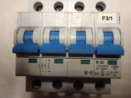 Schrack B32 3+N Sicherungsautomat