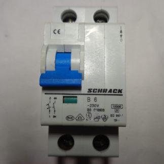 Schrack B6 1+N Sicherungsautomat