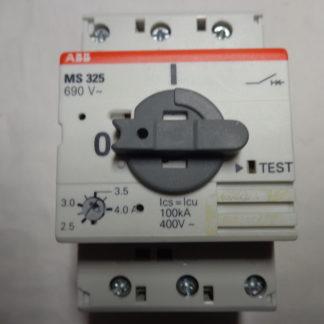 ABB MS 325 Motorschutzschalter  2,5 - 4,0 A