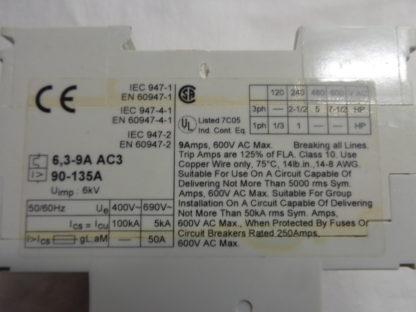 ABB MS 325 Motorschutzschalter  6,3 - 9,0A