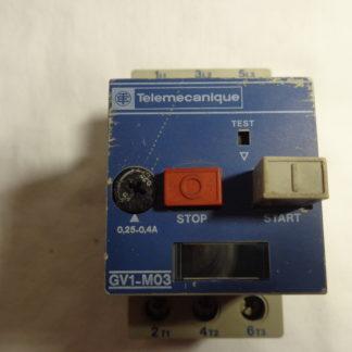 Telemecanique GV1-M03 Motorschutzschalter 0,25 - 0,4A