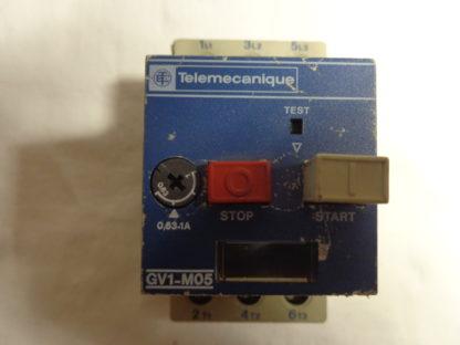 Telemecanique GV1-M05 Motorschutzschalter 0,63 - 1 A