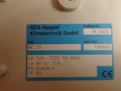 GEA MC25 Klimatechnik