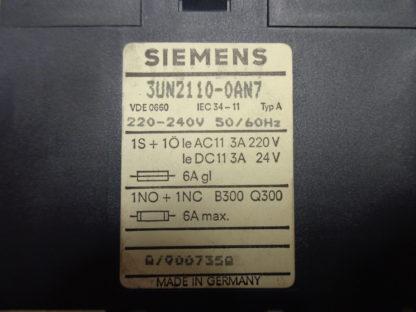 Siemens 3UN2110-0AN7 Thermistor Motorschutz
