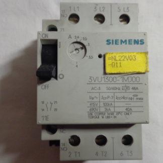 Siemens 3VU1300-1MJ00 Motorschutzschalter 2,4 - 4 A