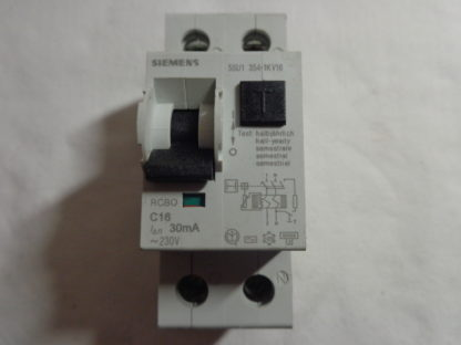 Siemens 5SU1 354-1KV16RCBO C16 30mA FI/LS