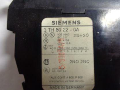 Siemens 3 TH 80 22 - 0A Schütz 220V