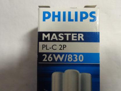 PHILIPS Master PL-C 2P 26W/830