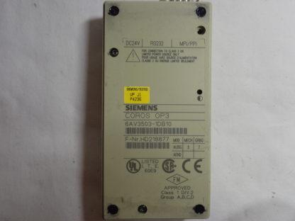 Siemens Coros OP 3 6A V3503-1DB10