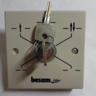 Besam Schiebetür Schalter mit Schlüssel