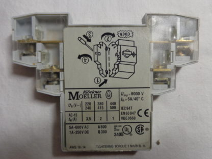 Moeller NHI11-PKZ0 Hilfsschalter