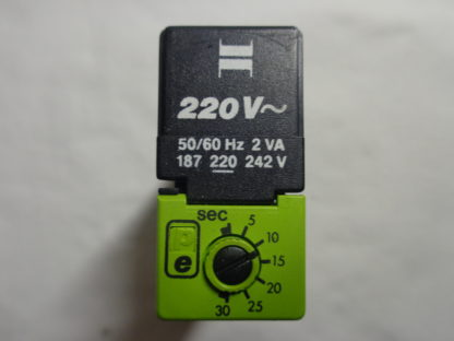 Tele Haase 187 220V 50/60Hz Zeitrelais mit Sockel