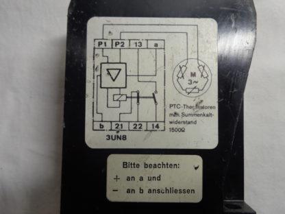 Siemens 3UN8 020 24V Motorschutz Auslösegerät