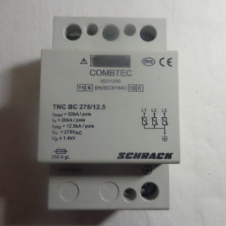 Schrack Combtec TNC BC 275/12.5 Überspannungsableiter