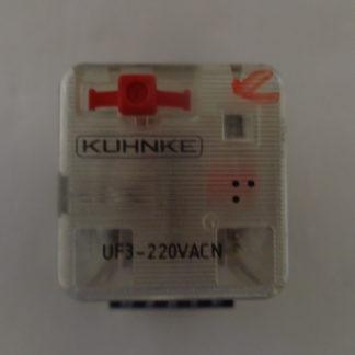 Kuhnke UF3 - 220VACN Relais mit Sockel