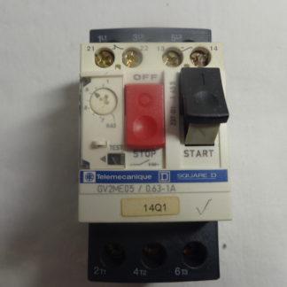 Telemecanique GV2ME05 7 0.63 - 1A