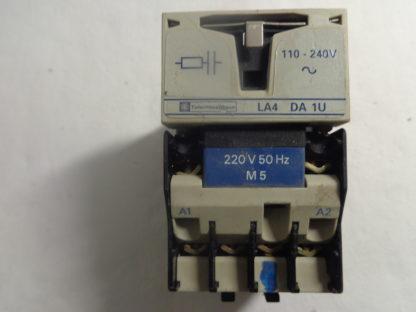 Telemecanique CA2 DN 22 Spulenspannung 220V 50HZ  + Überspannungsbegrenzer LA4 DA 1U