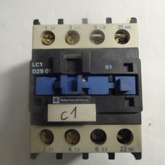 Telemecanique LC1 D25 01 Spulenspannung 220V 50HZ + LA4 DA 1U Überspannungsbegrenzer
