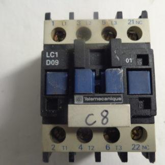 Telemecanique LC D09 Spulenspannung 220V 50HZ + LA4 DA 1U Überspannungsbegrenzer