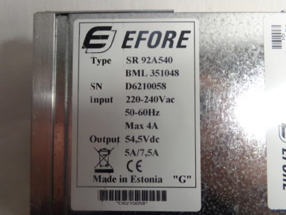 EFORE SR 92A540